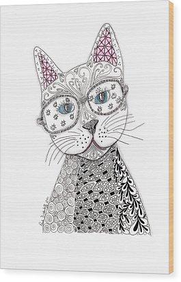Spec-catular Wood Print by Paula Dickerhoff