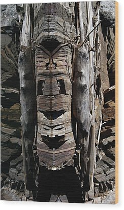 Wood Print featuring the photograph Spirit Of The Duncan by Cathie Douglas