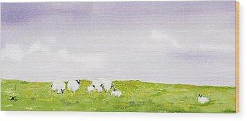 Spring In Ireland Wood Print