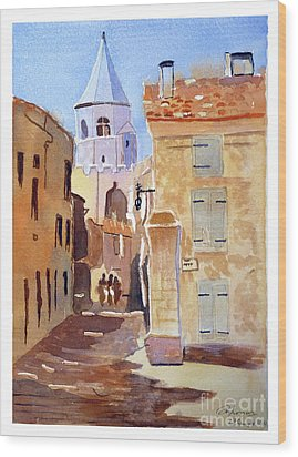 St Martin's Tower France Wood Print
