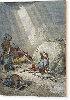 St. Paul: Conversion Wood Print by Granger
