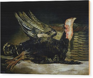 Still Life Wood Print by Goya