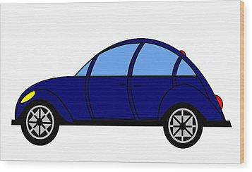 Student Delight -  Virtual Car Wood Print by Asbjorn Lonvig