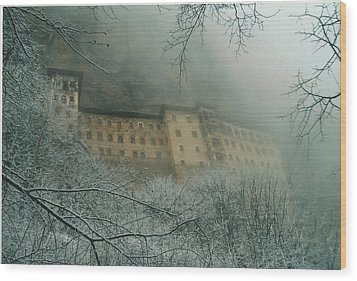 Wood Print featuring the photograph Sumela Monastery by Lou Ann Bagnall