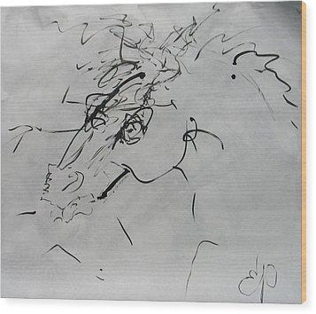 Sumi 2 Wood Print