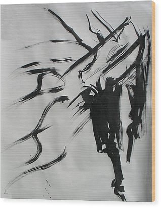 Sumi 4 Wood Print