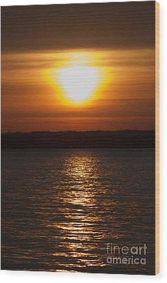 Wood Print featuring the photograph Sunrise On Seneca Lake by William Norton