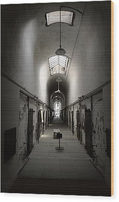 Wood Print featuring the photograph Sweet Home Penitentiary by Richard Reeve