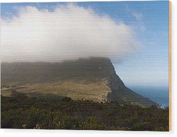 Table Mountain National Park Wood Print by Fabrizio Troiani
