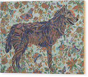 Tamed Wood Print by Erika Pochybova