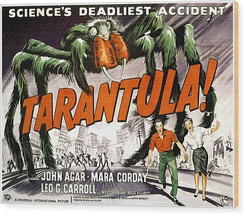 Tarantula, Bottom From Left John Agar Wood Print by Everett