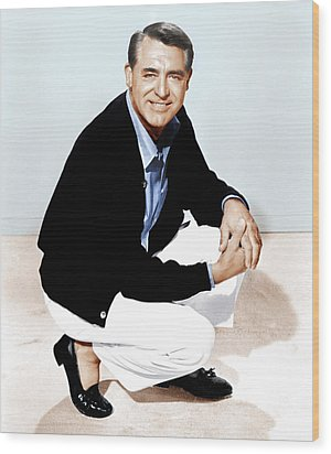 That Touch Of Mink, Cary Grant, 1962 Wood Print by Everett