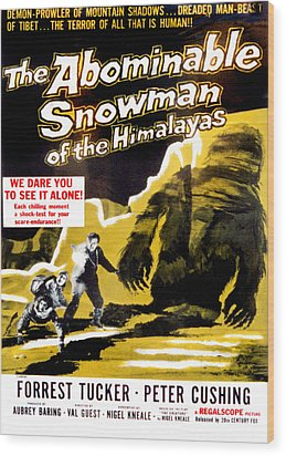 The Abominable Snowman, Aka The Wood Print by Everett