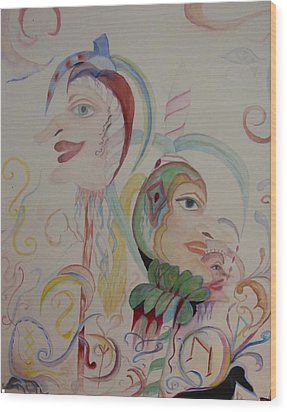 The Baby Maker Wood Print by Marian Hebert