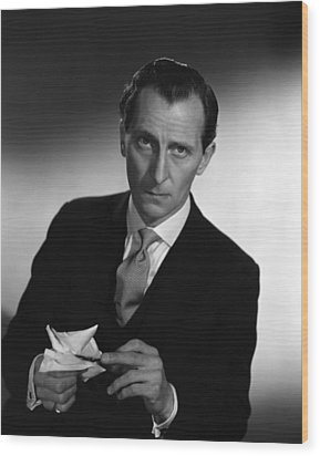 The End Of The Affair, Peter Cushing Wood Print by Everett
