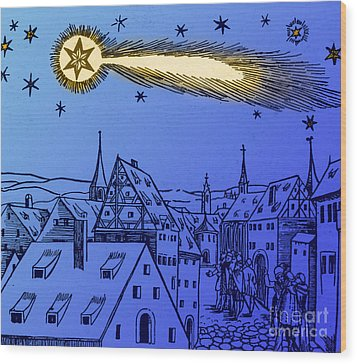 The Great Comet Of 1556 Wood Print by Science Source
