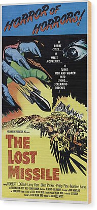 The Lost Missle, 1958 Wood Print by Everett