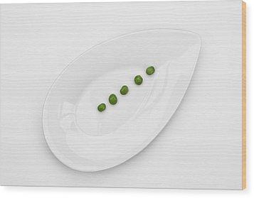 The Pea Wood Print by Joana Kruse