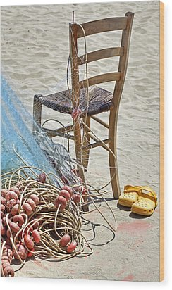 The Place Of The Fisherman Wood Print by Joana Kruse