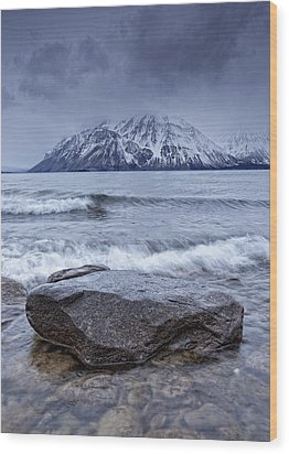 The Shoreline Of Kathleen Lake In Late Wood Print by Robert Postma