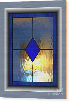 The Window Wood Print by Dale   Ford