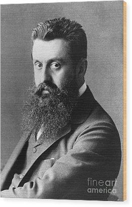 Theodor Herzl (1860-1904) Wood Print by Granger