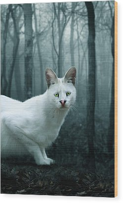 Tonga Wood Print by Big Cat Rescue