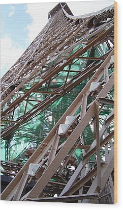 Tour Eiffel  Wood Print