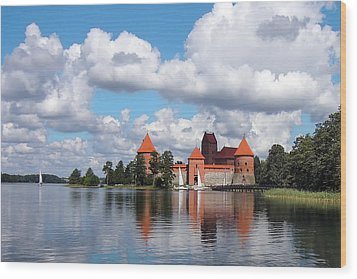 Trakai Castle Wood Print