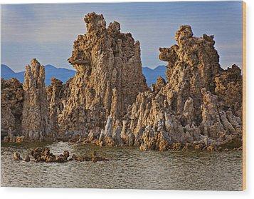 Tufa Mono Lake California Wood Print by Garry Gay