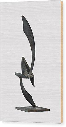 Up Lift Wood Print by John Neumann