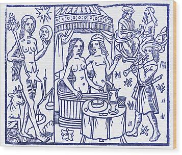 Venus, Roman Goddess Of Love Wood Print by Science Source