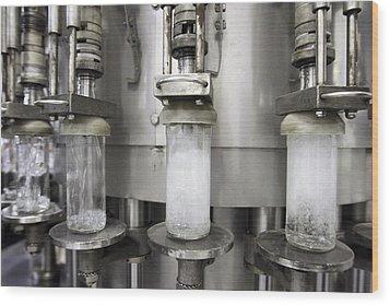 Vodka Factory, Russia Wood Print by Ria Novosti