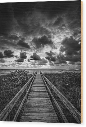 Walkway To Tomorrow Wood Print