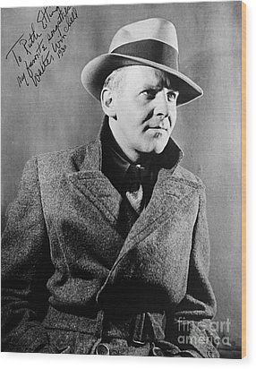 Walter Winchell (1897-1972) Wood Print by Granger