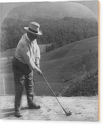 William Howard Taft Wood Print by Granger