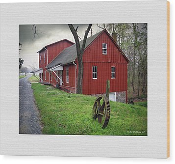 Williston Mill Wood Print by Brian Wallace