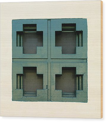 Windows Wood Print by Henrik Lehnerer