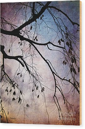 Winter Is Here Wood Print by Eena Bo