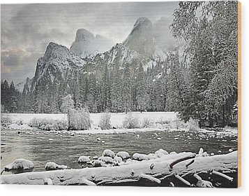 Yosemite National Park, California, Usa Wood Print by Robert Brown
