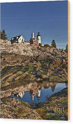 Pemaquid Point Lighthouse Wood Print by John Greim