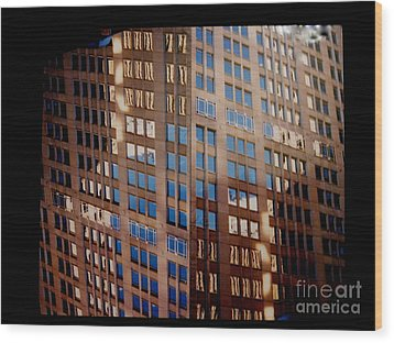1000 Windows Wood Print