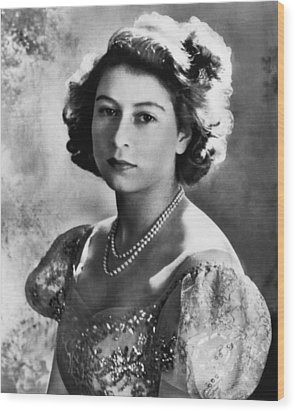 British Royalty. Future Queen Wood Print by Everett