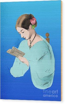 Florence Nightingale, English Nurse Wood Print by Science Source