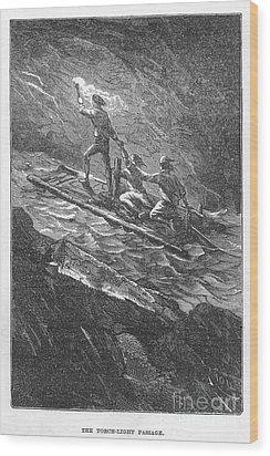 Verne: Journey Wood Print by Granger
