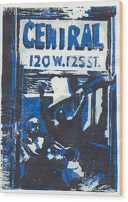 125th Street Wood Print