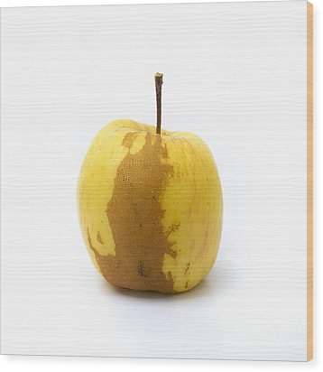 Apple Wood Print by Bernard Jaubert