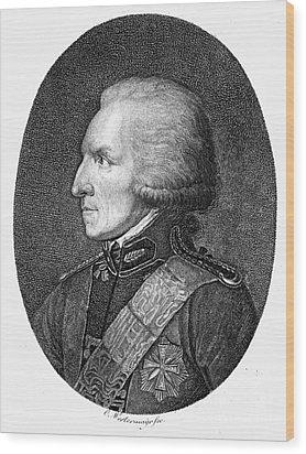 Benjamin Thompson Wood Print by Granger