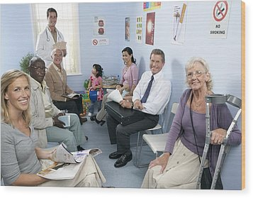 General Practice Waiting Room Wood Print by Adam Gault