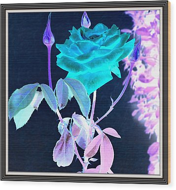 Flowers Flowers And Flowers Wood Print by Anand Swaroop Manchiraju